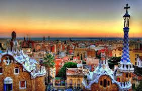 barcelona city view spain travel guide barcelona v s madrid via com travel blog