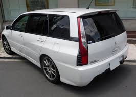 mitsubishi lancer wagon file mitsubishi lancer evolution wagon mr gt a ct9w rear jpg
