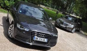 Comparatif Si E Auto B Essai Comparatif Audi A6 V6 3 0 Tdi 204 Ch Vs Mercedes Classe E