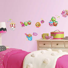 wondrous pink tree wall stickers see larger image pink love heart compact large pink flower wall stickers roommates in w x pink wall decals for nursery