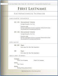 free resume templates microsoft word resume templates microsoft word 2007 free resume template
