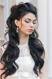 36 half up half down wedding hairstyles ideas prom makeuphair