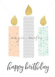 printable birthday ecards printable birthday card for girl with cute candles