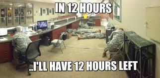 Military Police Meme - army staff duty in a nutshell imgur