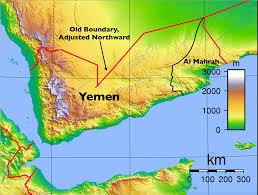 Map Of Yemen Yemen U0027s Beleaguered Al Mahrah Seeks Autonomy Geocurrents