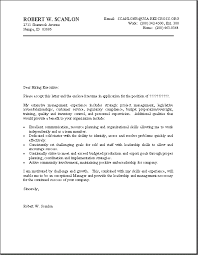 Cover Letters And Resumes Examples by Sample Of Good Resume Resume Sample Project Management Samples Doc