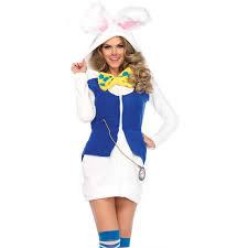 rabbit costume cozy white rabbit womens costume costume