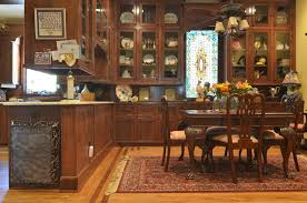 Victorian Dining Room Furniture Curio Cabinets For Victorian Dining Room With Counter Provisions