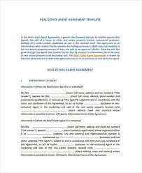 6 exclusive agency agreement form samples free documents in