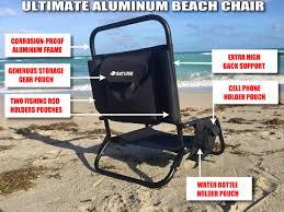 Folding Low Beach Chair Aluminum Folding Beach Chair Paddle Board Kayak Seat