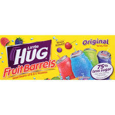 huggie drink hug fruit barrels original variety pack 8 fl oz 20 count