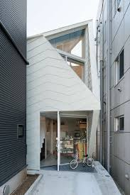 interesting tsubomi house flat house white exterior desing with