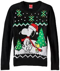 snoopy christmas t shirts official peanuts snoopy and woodstock youth christmas sweater