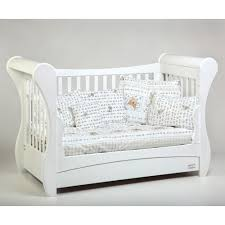 Sleigh Cot Bed Troll Sleigh Cot Bed White Nursery Pinterest Cot Bedding