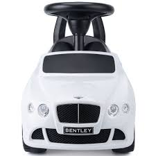 bentley white and black children u0027s ride on car bentley continental gt toy licensed with