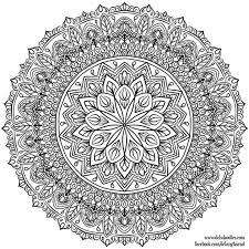 640 mandala images coloring books drawings