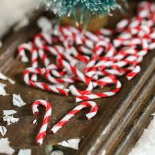 plastic candy canes wholesale miniature candy canes christmas miniatures christmas and