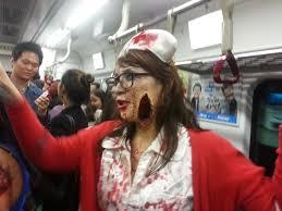 seoul zombie walk it goes suwon and on
