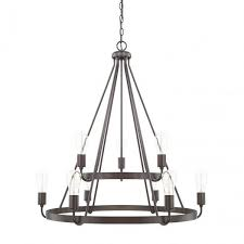 Swing From The Chandelier 2 Tier Tanner Chandelier By Capital Lighting Lighting Connection