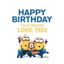 singing text message for birthday minions sing happy birthday minions