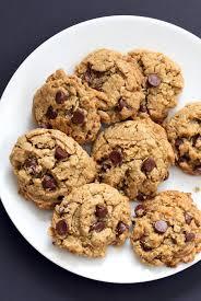 oatmeal chocolate chip sunbutter cookies 1 bowl vegan richa