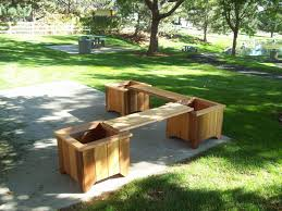 Wooden Planter With Trellis Bench Seat With Planter Boxes Melbourne Bench Planter With Trellis