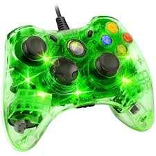 pdp afterglow wired controller for xbox 360 green walmart com
