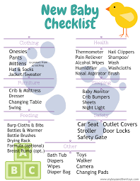 newborn baby needs new baby checklist printable my boys and their toys