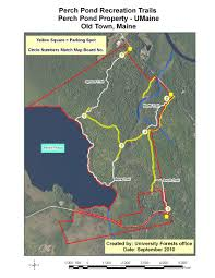 University Of Maine Map Trails U0026 Visitor Info Of Forest Resources University Of