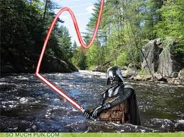 Fly Fishing Meme - darth wader puns pun pictures