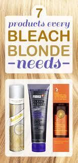 rescue bleached hair 7 ways to rescue your bleached blonde hair