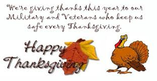 happy thanksgiving to our troops veterans benefits
