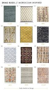 Cheap Moroccan Rugs Shag Rugs Roundup Emily Henderson