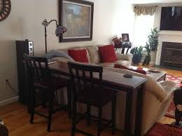 table behind sofa called sofa table design behind the sofa table appealing simple design