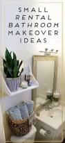 apartment bathroom makeover akioz apartment bathroom makeover within ideas about rental pinterest