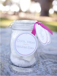 summer wedding favors design summer wedding favors cool treat warm or cool