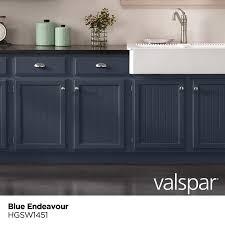 blue endeavor kitchen cabinets valspar cabinet and furniture satin blue endeavour hgsw1451 enamel interior paint 1 gallon