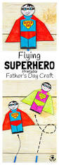 flying superhero father u0027s day craft kids craft room