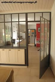 separation de cuisine en verre porte coulissante en verre pour cuisine maison design bahbe com