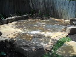 Backyard Flagstone Patios And Outdoor Living Greeneraustin Com