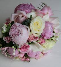 calla bouquets the flower magician pink bernhardt peonies with roses