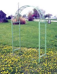 wrought iron dome ivy climb arch garden trellis