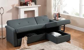 Sleeper Sofa With Storage Convertible Sectional Sofa Groupon Goods