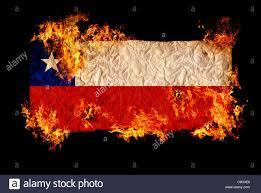 Chile Santiago Flag National Symbols And Flag Of Chile Stock Photo Royalty Free Image