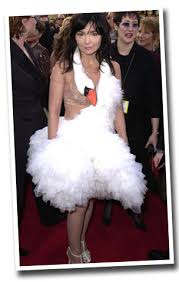 swan dress classic crimes of fashion bjork s swan dress women s swans