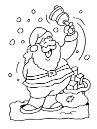 santa claus coloring pages learn coloring