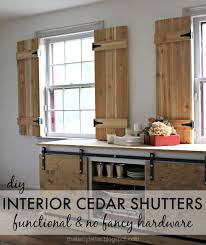 Kitchen Window Shutters Interior Interior Wooden Shutters Decoration Lofihistyle Decorative