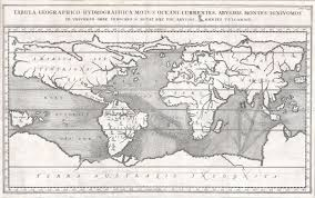 Map Of Ocean Currents File 1665 Kircher Map Of The World Earliest Map Of World To Show
