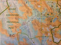Canadian Rockies Map Savour Life U2013 Time In Nature U2013 The Canadian Rocky Mountain Back