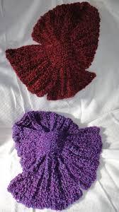 knitting pattern bow knot scarf kh scarves zz hat